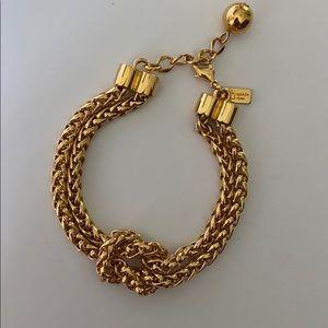 KATE SPADE Nautical Gold Knot Bracelet | NWOT